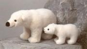 """Eisbär """"Erik"""" und Eisbärbaby"""