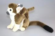 Totenkopfaffe mit Baby,, A50812BR1,uni-Toys