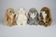 Uni Toys , C802431A Hase, kaninchen, Rabbit, Conejito, coniglio, Lapin,  Puppenstube im Nikolaiviertel
