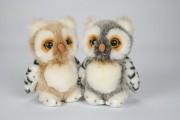 17 cm Uni Toys, EU0172A Eule, Owl, Buho, Hibou, Gufo, 貓頭鷹, Puppenstube im Nikolaiviertel