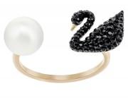 50 % Swarovski Damenring Iconic Ring SWAN  5296470 EAN: 9009652964709 Größe: 52 Innenmaß: 16,5 mm
