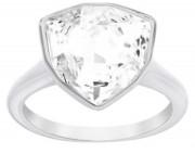 Swarovski-Kristallring Triangle Größe 52 Weiß 5076757, 9009650767579,