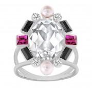 50 % Sale Swarovski  Blanche Ring 5103689 Size: 52 Innenmaß: 16.5 mm Damenring Steinart: Swarovski-Kristall 9009651036896
