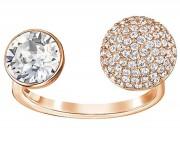 50 %, Swarovski Damen-Ring Forward Ring Größe 52 Innenmaß: 16,5 mm Art.-Nr.5251698 EAN: 9009652516984