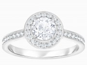 50 % Sale Swarovski Attract Ring 55 5368545 rhodniert 9009653685450