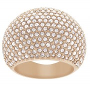 50 % Sale Swarovski 5102572 Stein Rose vergoldet Kristall Pavé Ring Gr. 58  Innenmaß 18,4  mm 9009651025722