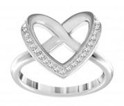 50 % Sale Swarovski 514009 Damen-Ring CUPIDON rhodiniert weiß Größe  60 Innenmaß 19,1 mm 9009651400970