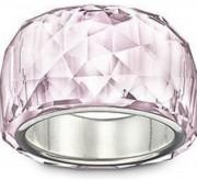 50 % Sale Swarovski Damen-Ring Metall Nirvana Petite Rosaline versilbert Kristall 1175720, Größe 52 9007811757209 Innendurchmesser 16,5 mm
