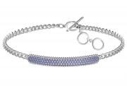 50 % Sale Swarovski 5406993 Locket Armband, lila, rhodiniert, 9009654069938