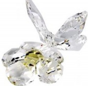 50 %, Sale, Swarovski, Schmetterling auf Bluete Butterfly on flower Artikel Nr. 840190 EAN: 9003148401907 Größe 8,5 cm