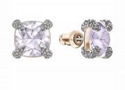 30 % Sale Swarovski Knopf Ohrringe Frau Artikel Nr. 5430408  EAN: 9009654304084  Material vergoldet Crystal Badezimmerpink Kristalle klar Farbe gold