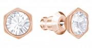 60 % Sale Swarovski Hexa Ohrstecker  Artikel Nr. 5371199 EAN: 9009653711999 Farbe rose gold Material vergodet Größe 1 cm  Kristall: klar