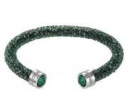 50 % Sale Swarovski crystaldust grün Cuff – M Artikel Nr. 5250690 EAN 9009652506909