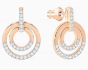 30 % Sale, Swarovski Ohrhänger Circle  Artikel Nr. 5349204 EAN: 9009653492041 vergoldet
