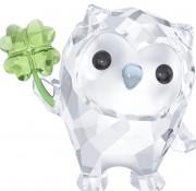 Sale Swarovski Kristall Hoot – Ich bin so Glück – Eule Irish Vier Leaf Clover 2017 Artikel Nr. 5270265 EAN: 9009652702653