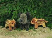 Wildschwein  Bache Berta 3180 Plüschtier Fa. Kösen