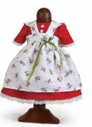 Landhaus Bekleidung Mädchen  Größe: 35 cm Käthe Kruse Puppenkleid ohne Puppe Artikelnummer: 0135950