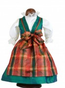 Oktoberfest Dirndl  47 cm Käthe Kruse Puppenkleid Artikelnummer: 0147952 Größe: 47 cm