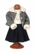 Puppenkleid Herbstspaziergang Größe: 52 cm Mädchen Käthe Kruse Puppenkleid Artikelnummer: 0152606 Alter: ab 0 Monaten  EAN: 4030936263909