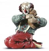 Gilde Clown Bärenstarke Freunde (1999) Artikelnummer: 10107 Höhe: 11 cm Figur des Jahres: 1999