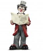 Gilde Clown Lyrikus 2007 Artikelnummer 10151 Höhe 16 cm Limitierung: 19.900 Stück weltweit
