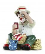 Gilde Clown Sommerpause (2009) Artikelnummer: 10160 Höhe: 11 cm Figur des Jahres: 2009 Limitierung: 17.500 Stück weltweit