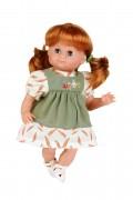 Puppe, Schlummerle, 32 cm, rote Haare, 2032850, Schildkroet, Spielpuppe, Sammlerpuppe , Klassikpuppe,