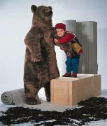 Braunbär 150 cm groß von Kösen