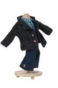 Puppenbekleidung Lodenjacke Hemd Hose von Käthe Kruse