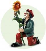 Gilde Clown Der Sonnenschein (2008) Artikelnummer: 10156 Höhe: 14 cm Jahreslimitierung Figur des Jahres: 2008