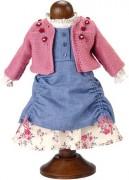 Bekleidung Ausgehkleid Puppe I von Köthe Kruse