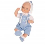 Baby Strampelchen in Miblu mit Glaskugelaugen  limitiert auf 3000 Stück weltweit Artikel-Nr.: 6031569 Fa. Schildkroet