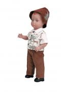 """Schildkroetpuppe Hans Gr. 41 braune Haare """"Made in Germany""""  Artikel-Nr.: 8041746 limitiert auf 20000 Puppen weltweit"""