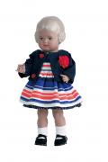 PuppenKleid  ohne Puppe Gr. 25 bis 70 cm für Stehpuppe Artikel-Nr.: 0025747