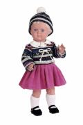 "Schildkroetpuppe Erika Gr. 41 blonde Haare ""Made in Germany""  Artikel-Nr.: 8541769"