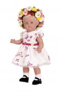 """Puppenkleid ohne Puppe Gr. 34+41+46 zu Stehpuppe """"Made in Gemany""""  Artikel-Nr.: 0034768 Fa. Schildkröt"""