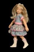 neue originale Puppenkleidung Agneta by Heidi Plusczok original 2006 für 55cm (21,5') Puppe