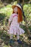 Anissa 20361-55 Zwergnase Junior Doll Nicole Marschollek-Menzner Spielpuppe Sammlerpuppe