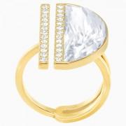 50 % Sale Swarovski Ring Größe 58 , 5284091, Glow, Ring, vergoldet, weiß,