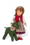 Helenchen mit Esel von Käthe Kurse