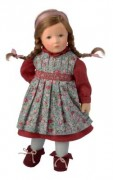 klassische Käthe Kruse Puppe Lisbeth, 27 cm 0127701
