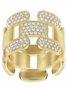 50 % Sale Swarovski  Cube Ring  5139677 Size: 52 Innenmaß: 16.5 mm Damenring Steinart: Swarovski-Kristall 9009651396778