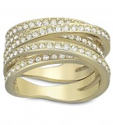 50 % Sale Swarovski Spiral Damenring Fingering Modell ,5032928 EAN: 9009650329289 Ringgröße  55
