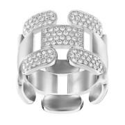 50 % Sale Swarovski  Cube Ring  5139680 Size: 52 Innenmaß: 16.5 mm Damenring Steinart: Swarovski-Kristall 9009651396808