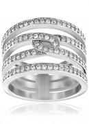50 % Sale Swarovski  Creativity Ring 5139652 Size: 52 Innenmaß: 16.5 mm Damenring Steinart: Swarovski-Kristall 9009651396525