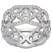 50 % Sale  Swarovski Damen-Ring Daylight Art.Nr. 5184571 EAN:9009651845719 Größe : 52 Innenmaß: 16.5