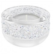Swarovski Teelicht weiß White Crystal Candle Holder SHIMMER TEA LIGHT HOLDER 5135772