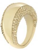 50 % Sale Swarovski 5098349 Glas Gold Ring 9009650983498 Größe 55 Innenmaß 17,5 mm