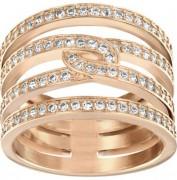 50 % Sale Swarovski 5123789 Creativity Kreativ Ring Größe 55 rose gold 9009651237897