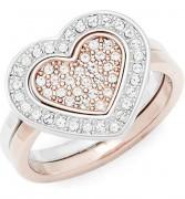 50 % Sale Swarovski Damen-Ring Cupid 5182091 Größe 55 Vergoldet Kristall transparent 9009651820914